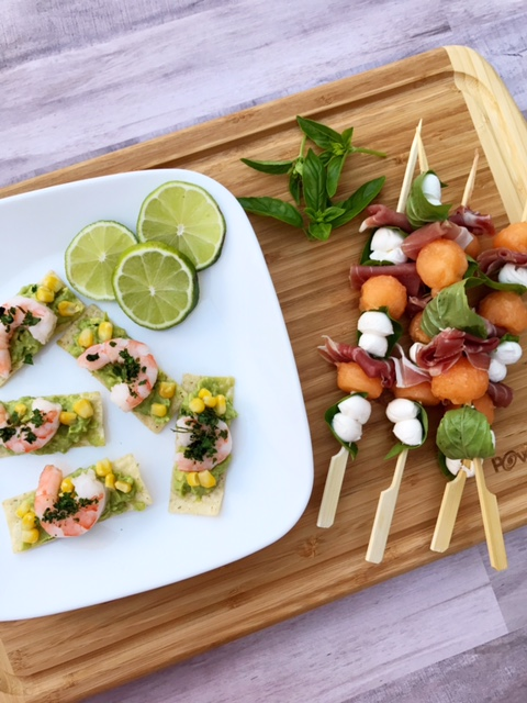 Two Quick Summer Appetizers in Less Than 10 mins!