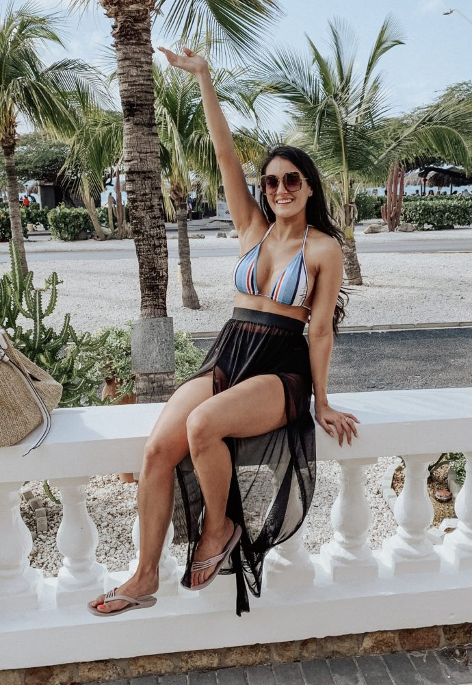 Our week-long, dream honeymoon in Aruba at Amsterdam Manor. Part 1!