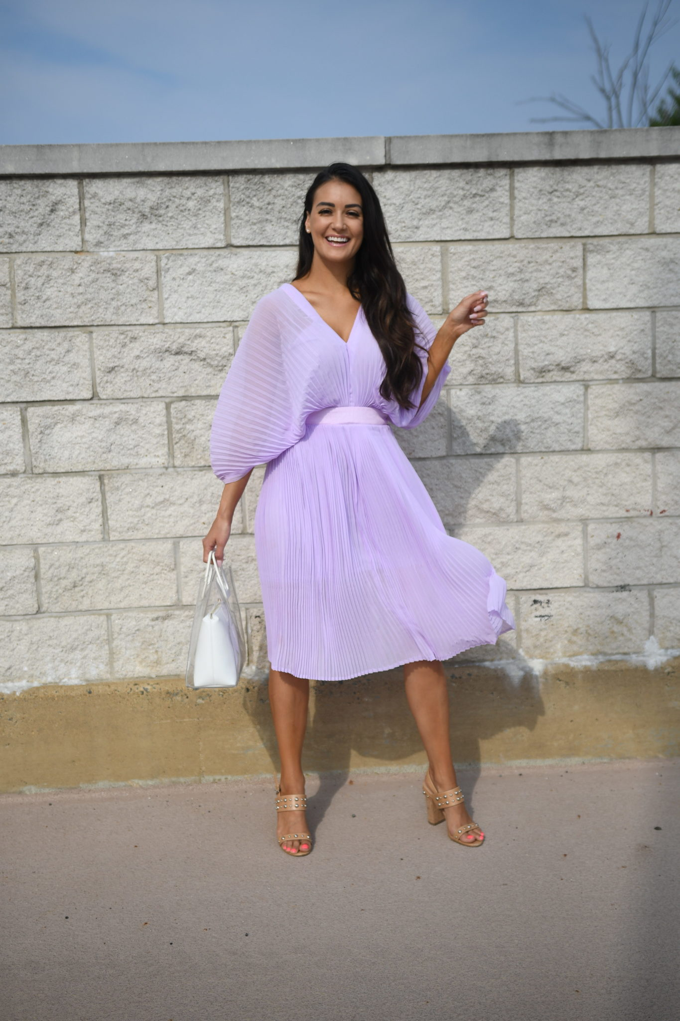 What colour shoes to wear with plum dress
