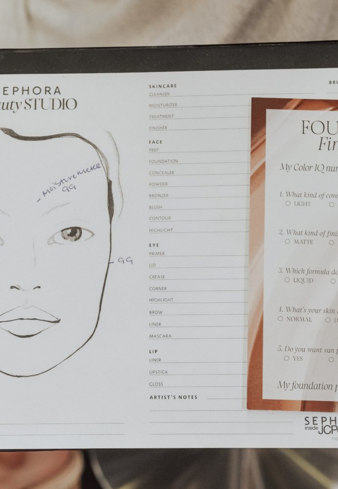 How to find the perfect foundation at Sephora Inside JCPenney!
