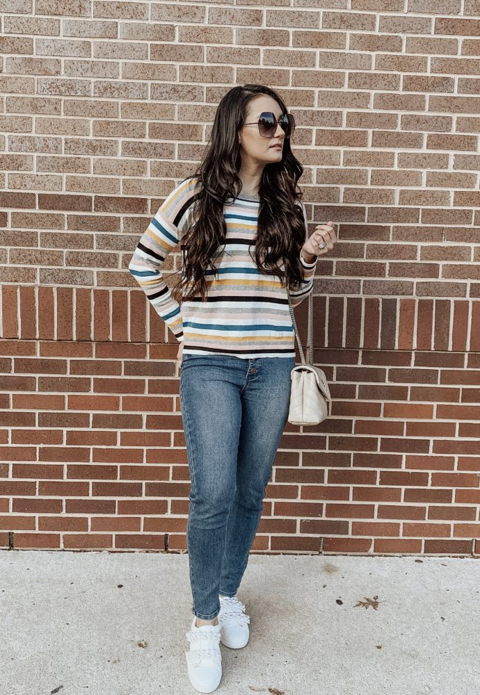 Fall into the stripe trend! Striped Sweaters under $40!!